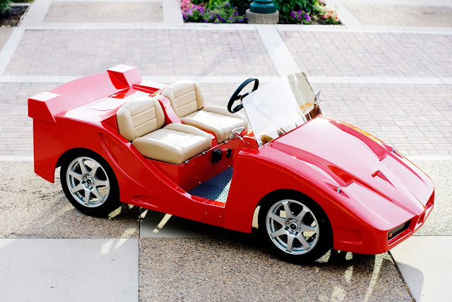 Ferrari enzo golf cart by Pennwick