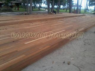 harga jual lantai kayu parket lombok