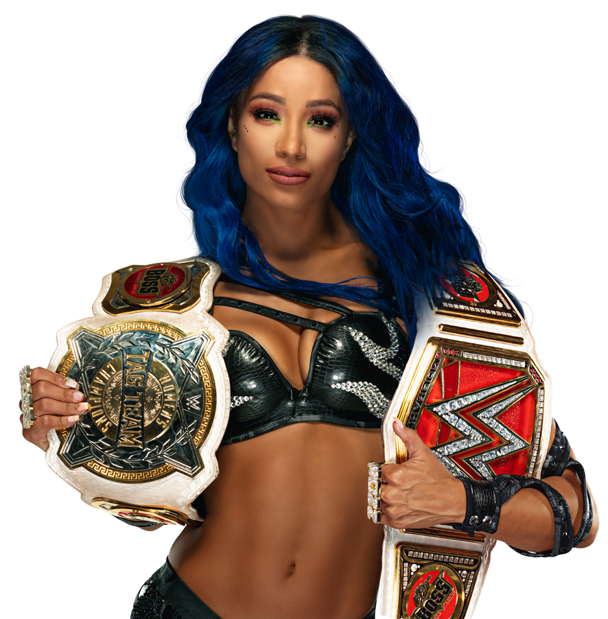 Sasha Banks RAW and Tag T Champ Alternative