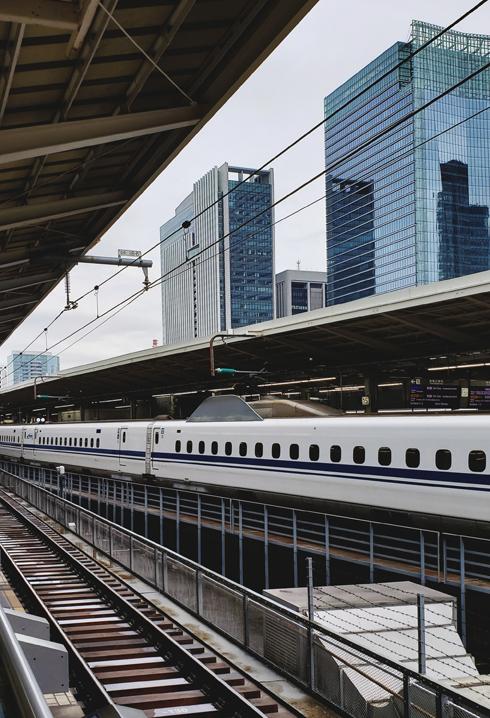 Shinkansen Tokyo Osaka Nozomi Bullet Train Japan