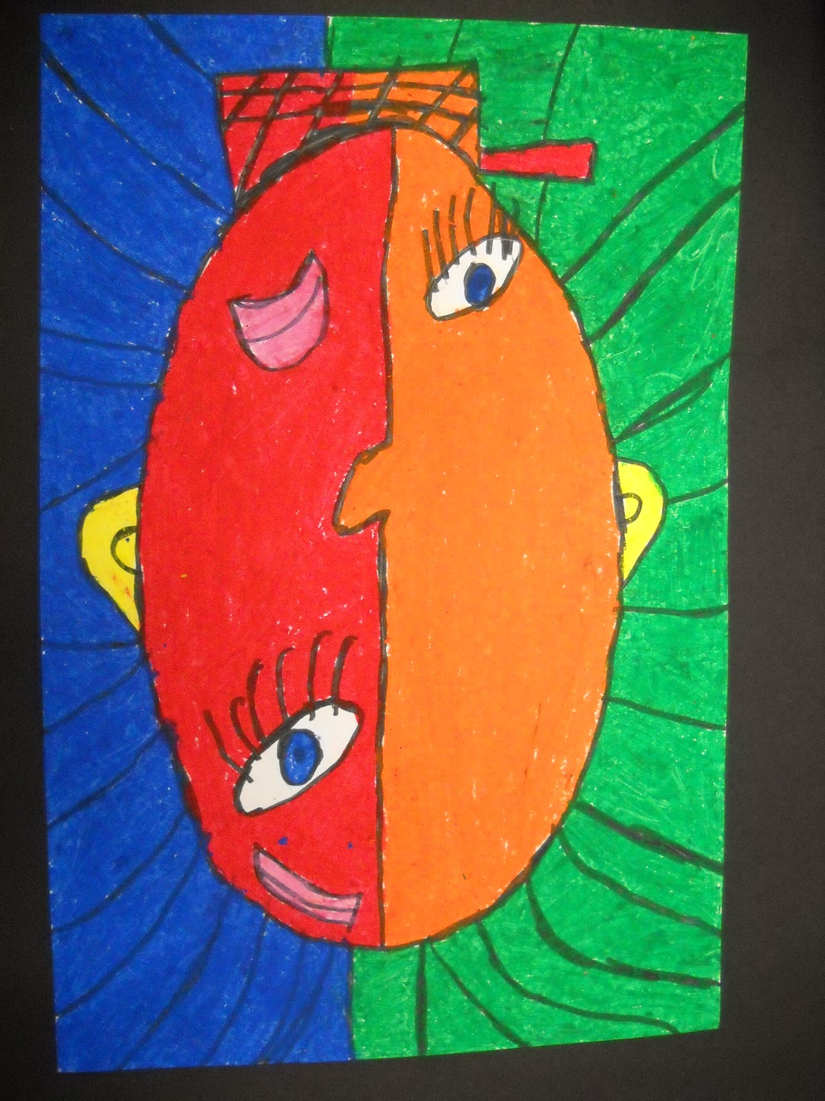 Teach Art And Create Picasso Inspired Cubism Self Portraits