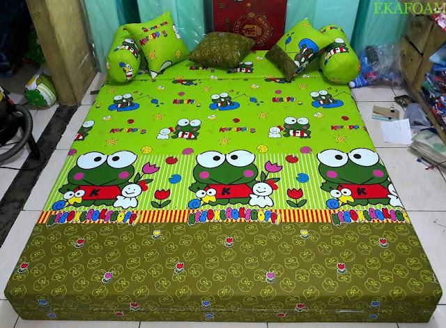 Sofa bed inoac KEROPPY LAMA Saat difungsikan sebagai kasur inoac normal