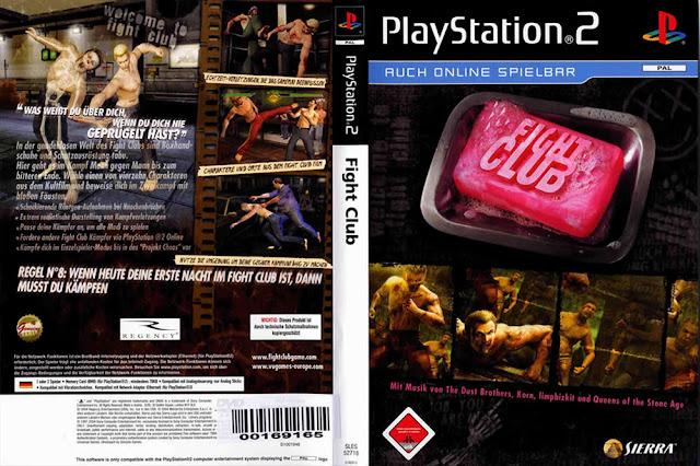 Descargar Fight Club ps2 iso NTSC-PAL. El juego sigue la fórmula estándar de los juegos de lucha de género, tales como Street Fighter II y Tekken . En una vista lateral, los jugadores controlan una de dos personajes que realizan diversos movimientos de lucha hasta que uno sea igual.