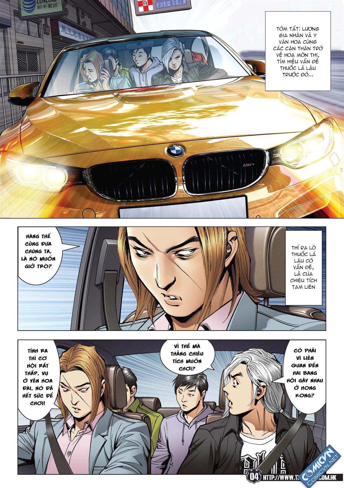 Người Trong Giang Hồ chapter 2093: nó là tay trong trang 3