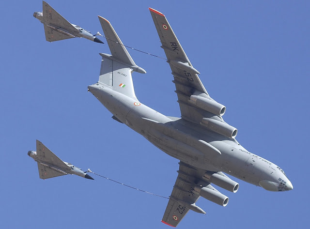 Mirage 2000H - Il-78MKI - Indian Air Force - IAF - 01