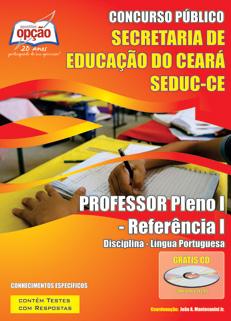 Apostila Seduc (CE) Professor Pleno - Ceará