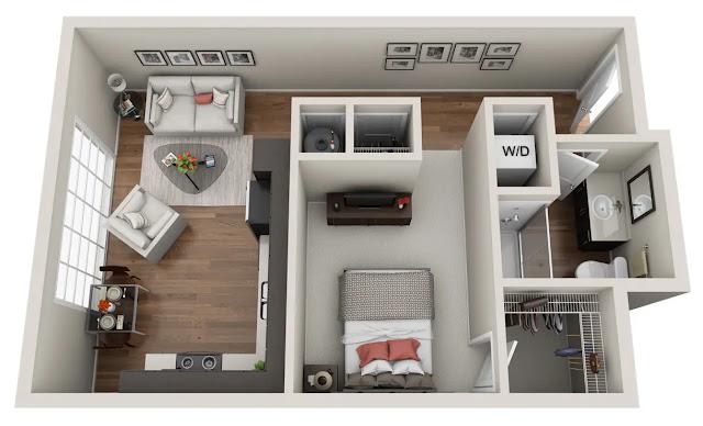 Model Rumah Minimalis Sederhana - Rumah Minimalis Tipe 21