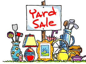 Friends of the Goodwin Library Yard Sale June 15th