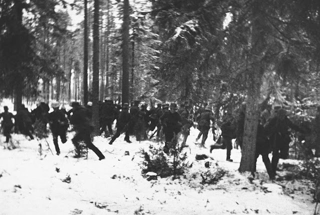 19 January 1940 worldwartwo.filminspector.com Finnish troops