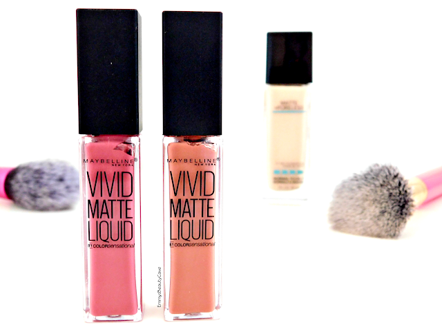 Maybelline Vivid Matte Liquid Lipsticks review