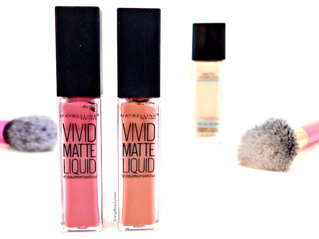 Maybelline Vivid Matte Liquid Lipsticks review