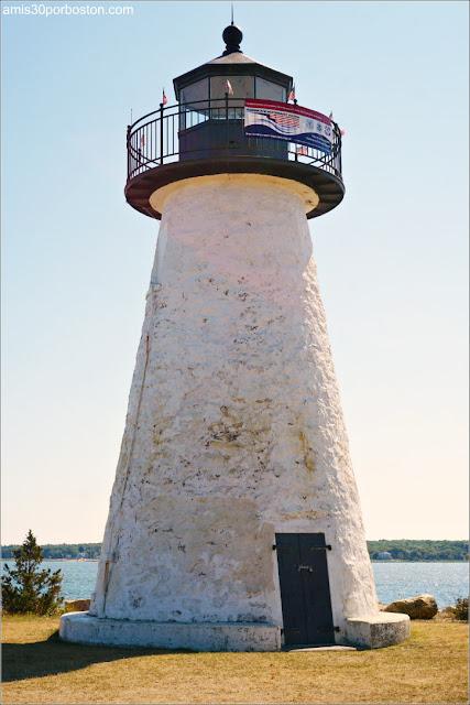 Faros de la Costa Sur de Massachusetts: Ned's Point Lighthouse