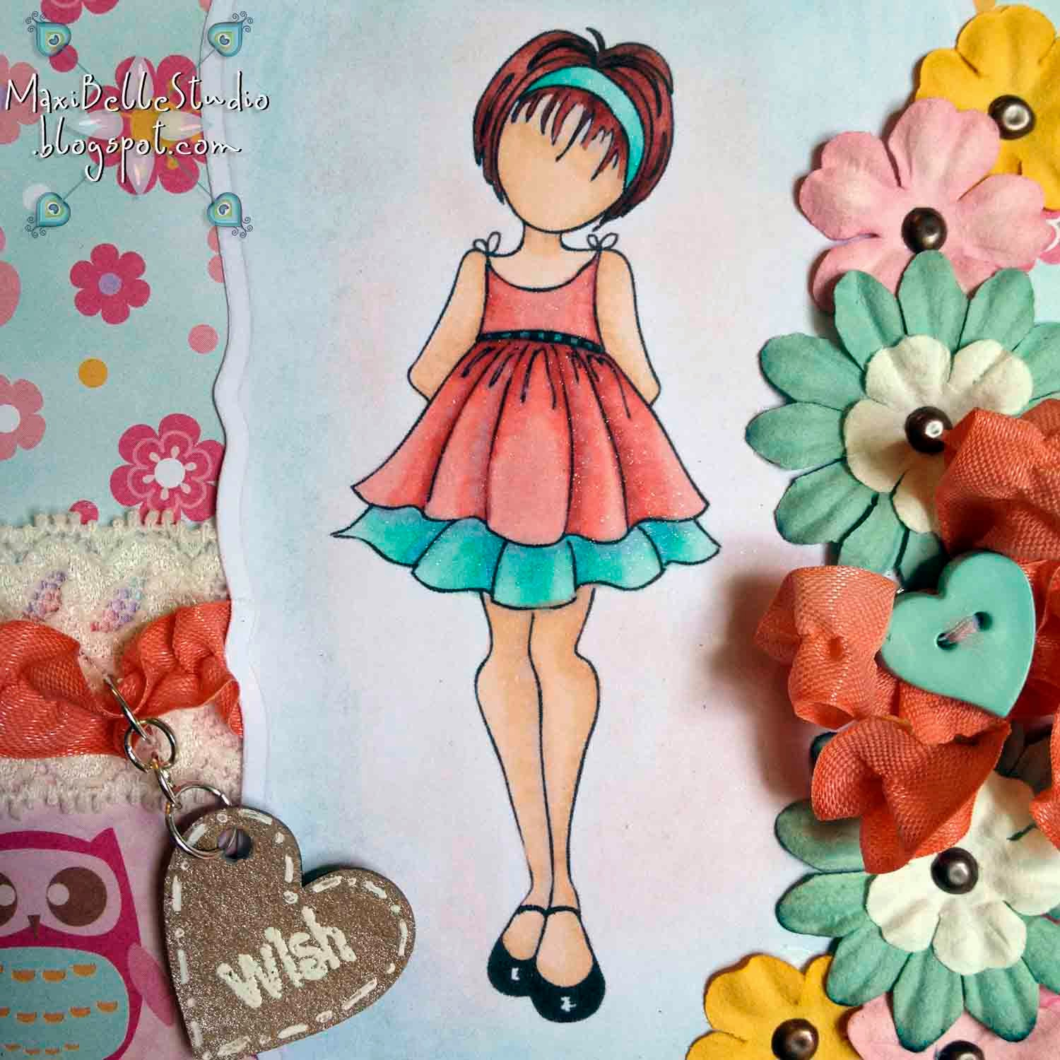 Prima Doll Ruffle Dress