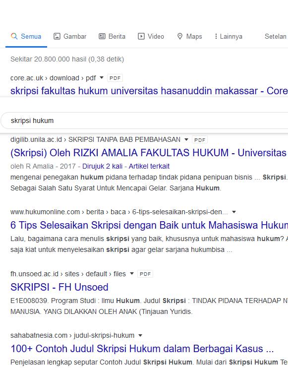 Cara Mencari Ribuan Bahan Skripsi Dengan Mudah Di Google Suara
