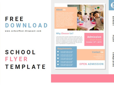 Free School Admission Flyer Templates Word Document Fully Editable File