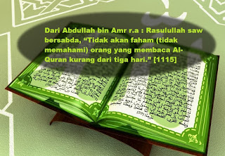Mengkhatam Al-Quran