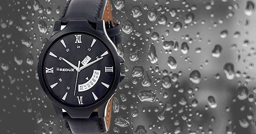(Amazon's Best) REDUX Analogue Black Dial Men's Watch of Rs.2199 Just at Rs.369
