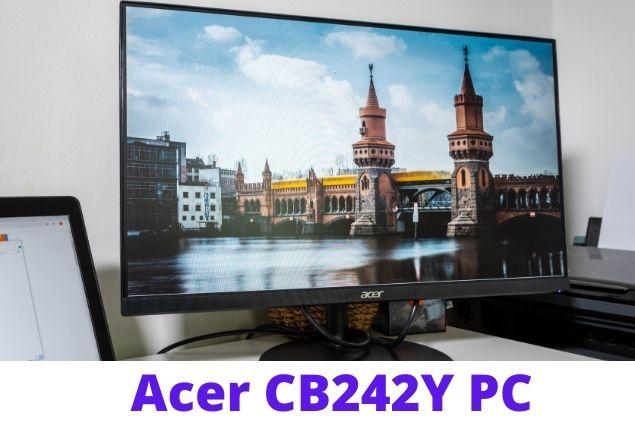 Acer CB242Y monitor display