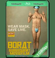 BORAT, SIGUIENTE PELÍCULA DOCUMENTAL (2020) WEB-DL 1080P HD MKV ESPAÑOL LATINO