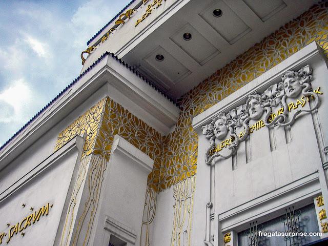 Edifício Secession, Viena, Áustria