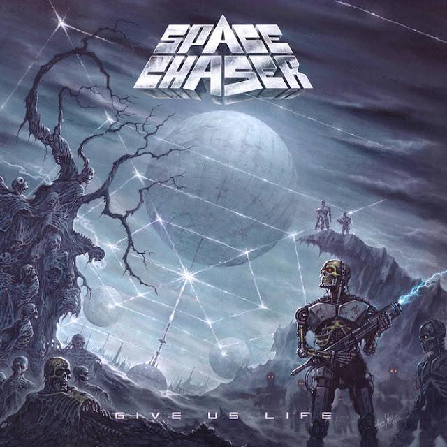"""Ο δίσκος των Space Chaser """"Give Us Life"""""""