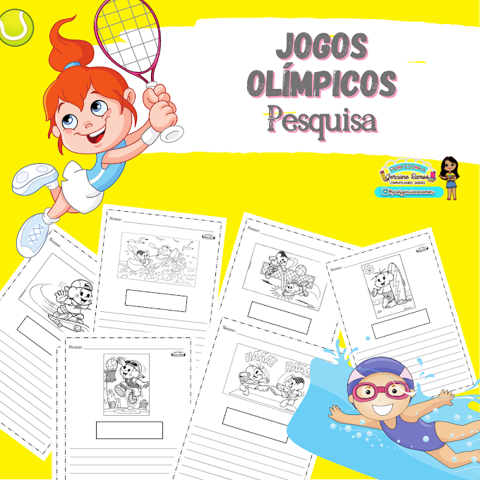 JOGOS OLÍMPICOS - PESQUISA