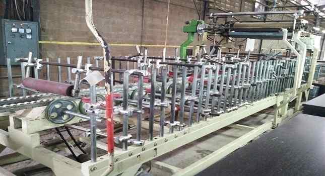 mesin wrapping laminasi furniture