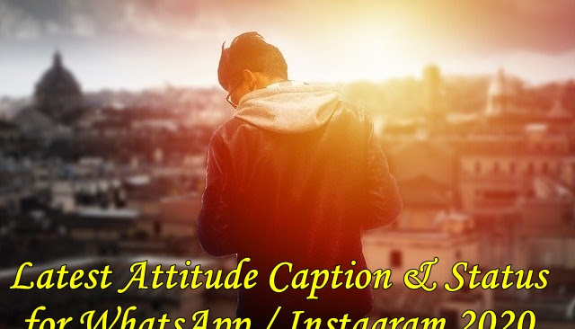 Latest Daring Caption & Status for WhatsApp / Instagram in Hindi 2020
