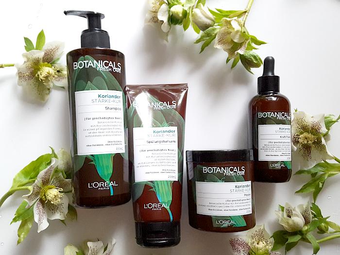 Review: Botanicals Fresh Care - Koriander Stärke-Kur Premium-Haarpflege Drogerie