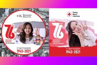 10 Bingkai Twibbon HUT PMI Ke 76 Palang Merah Indonesia Terbaik di Twibbonize