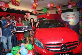 Raashi Khanna at Mirchi 95 Suno Mercedes Jeeto Contest Stills  0042.jpg