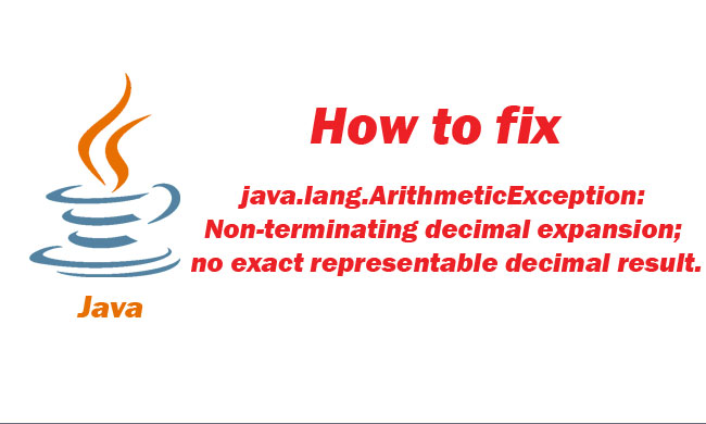 How To Fix Non Terminating Decimal Expansion