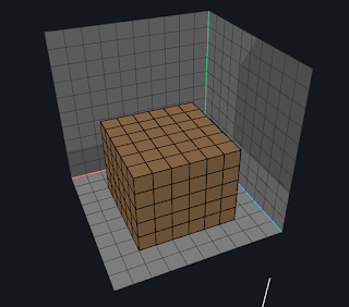 Click to extrude voxels using the Face tool