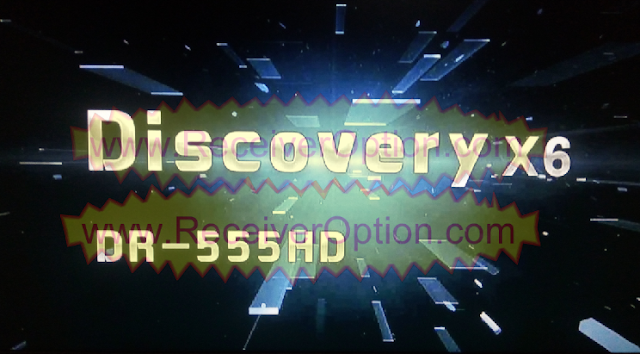 DISCOVERY X6 DR-555HD RECEIVER TEN SPORTS OK NEW SOFTWARE