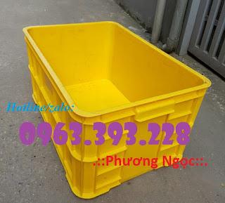 Thùng nhựa đặc cao 31 có nắp, thùng đựng phụ tùng cơ khí 9b2936ec6a1f8841d10e