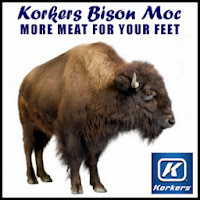 Korkers Bison Mocs - Bison Leather