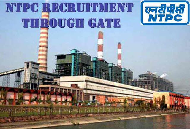NTPC Recruitment Through GATE