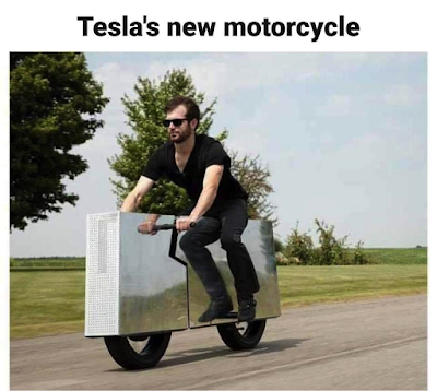 Tesla's new motorcycle