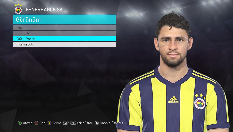 PES 2018 Guiliano (Fenerbahçe) Face by Fcemaker Alp