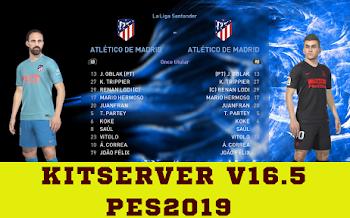 KitServer   V16.5   Season 2019/20   EvoSwitcher V5.2   PES2019   PC