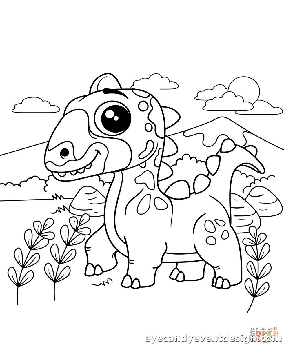 Dinosaurier Ausdrucken