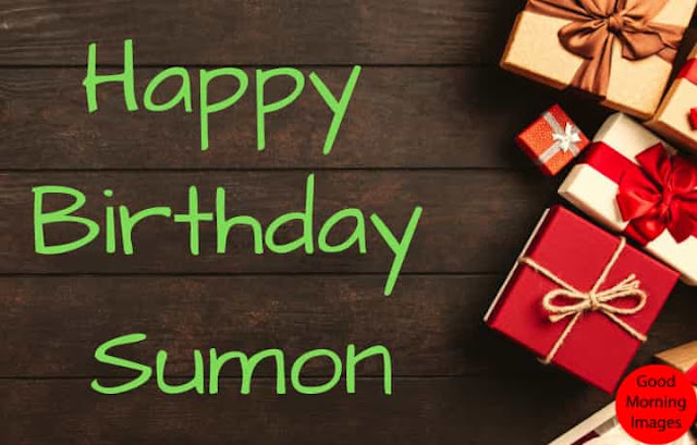 Birthday cake images with name sumon