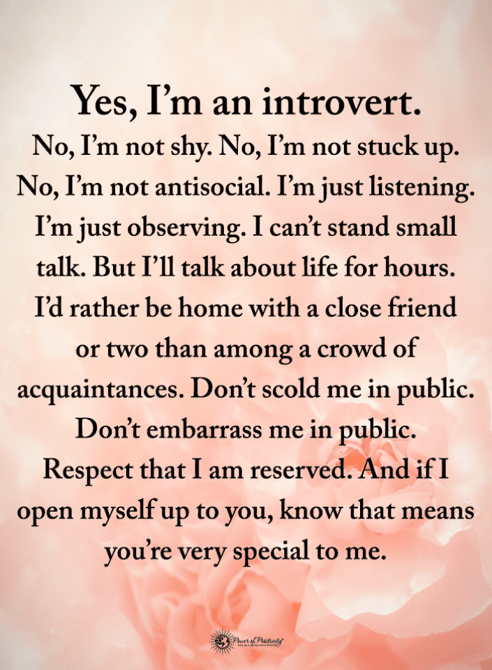 Introvert Quotes, Quotes,