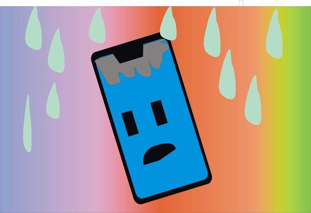 What to do when the phone gets wet?