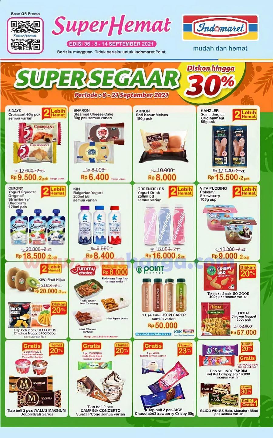 Katalog Indomaret Promo Terbaru 8 - 14 September 2021