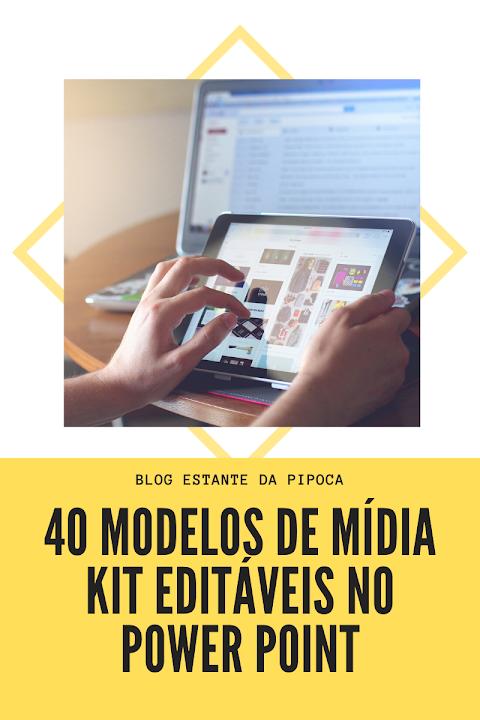 {Blogosfera} 40 Modelos editáveis de Mídia Kit no Power Point