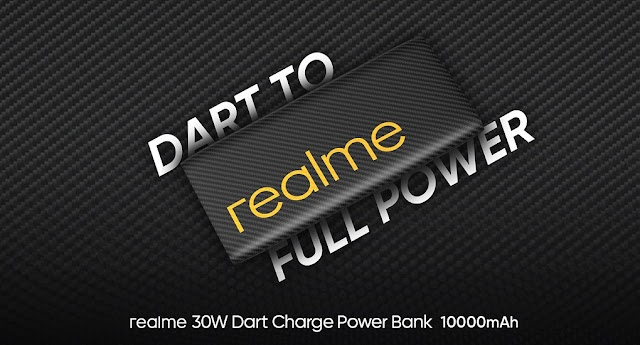 Realme 10000mAh 30W Dart Flash Power Launched For Rs. 1,999/- Only