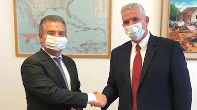 Modi Ephraim y Sergio Urribarri en Israel