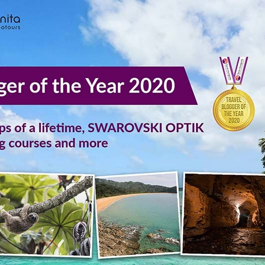 Pemenang Travel Blogger of the Year 2020 Competition