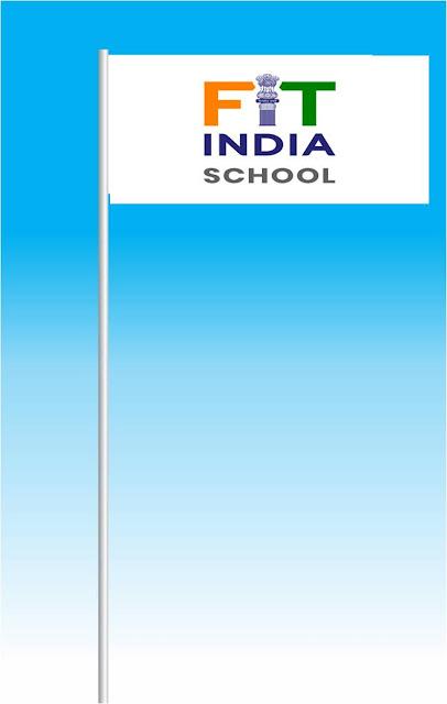 MAPS Fit India School Flag